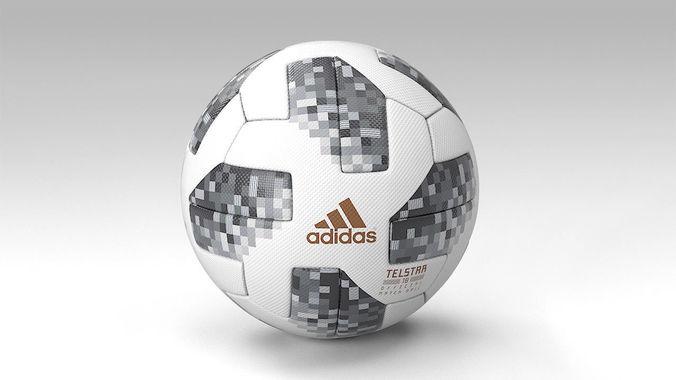 ddabf24ff6e official ball fifa worldcup 2018 telstar pbr 3d model max obj fbx mtl 1