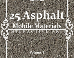 Asphalt Mobile Materials Package Volume 1 3D