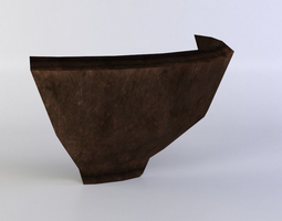 bowl shiver VR / AR ready 3d model