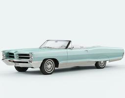 Pontiac Bonneville 1966 convertible 3D