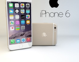 iPhone 6 3D asset