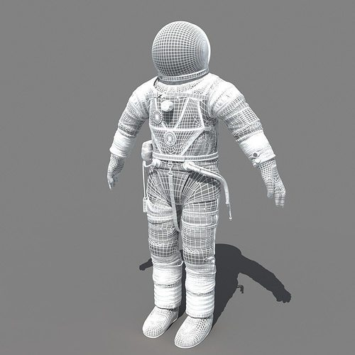 model of layers of the space suit - photo #20