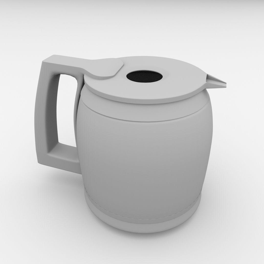 Cooks Coffee Maker Carafe Model 22005 : Coffeemaker Carafe 3D Model .3ds .fbx .blend .dae - CGTrader.com