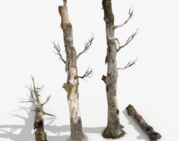 Dead Trees Collection 3D model