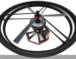 High-End Camera UAV Drone 3D Model
