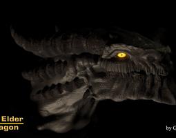 The Elder Dragon 3D model