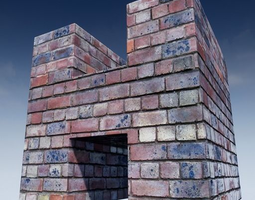 Brick Seamless Customizable Material Pack Edition 3D model