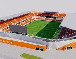 3D model VR / AR ready BBVA Compass Stadium - Houston