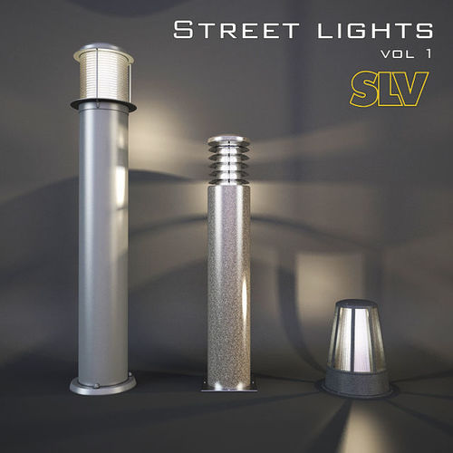 street lights vol 1 slv 3d model max obj mtl fbx 1