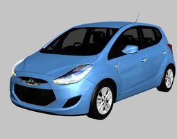 Hyundai ix20 2011 3D model