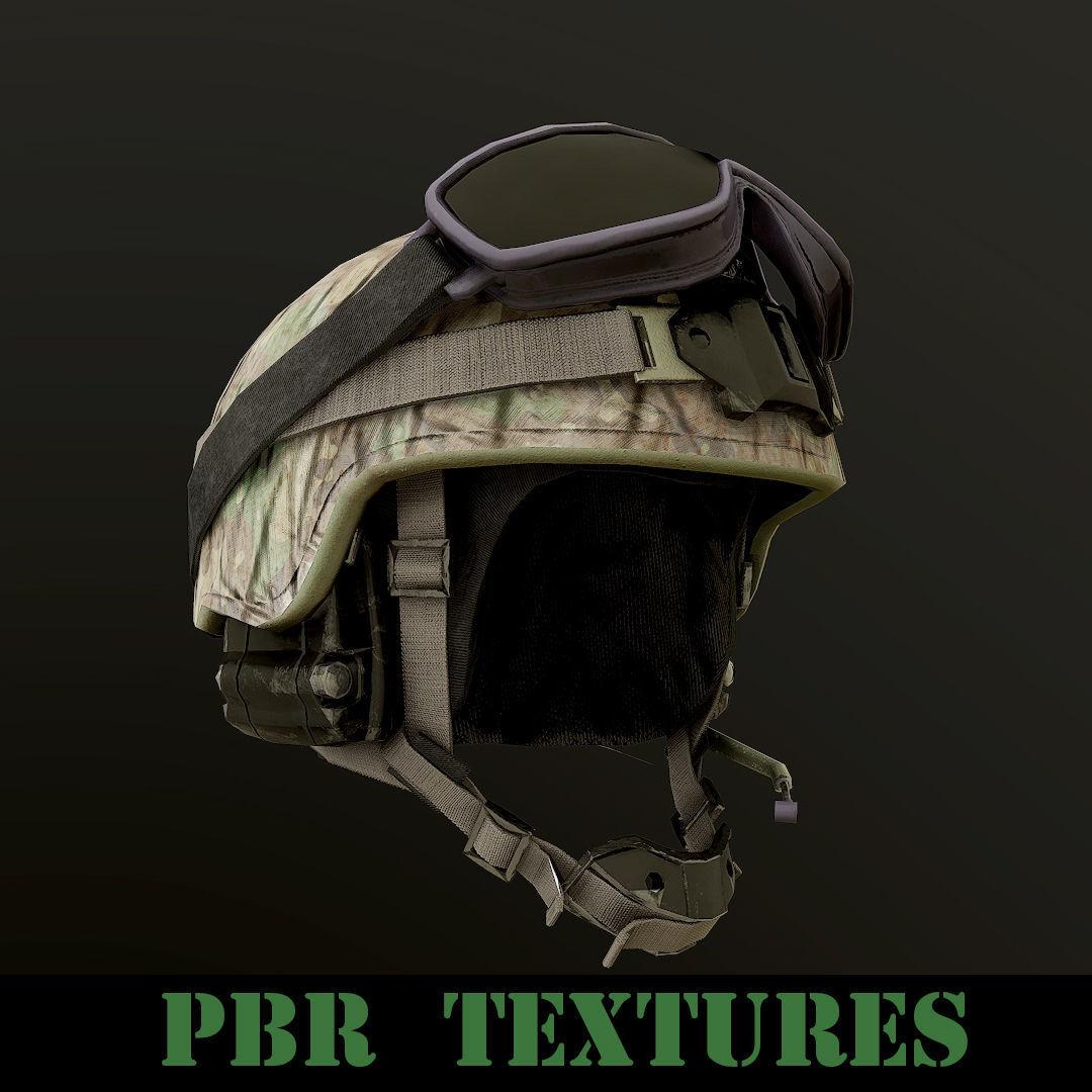 Military Helmet PBR | 3D model