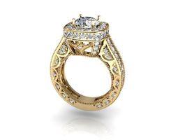 3D print model ring stl cad cam
