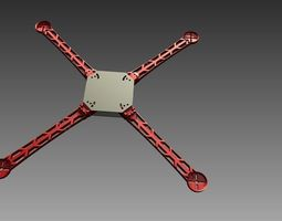 control 3D Printable Quick-Connect Quadcopter
