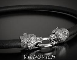 bracelet bear 3D printable model