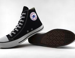Casual Shoes Chuck Taylor Hi 3D model realtime