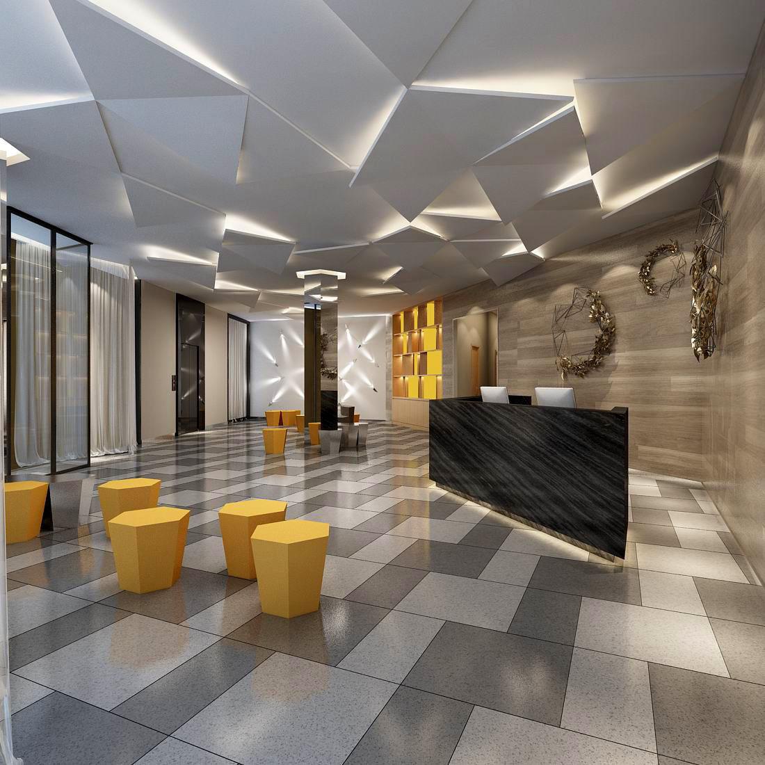 d model office meeting room reception hall   cgtrader. office meeting room reception hall  d model max