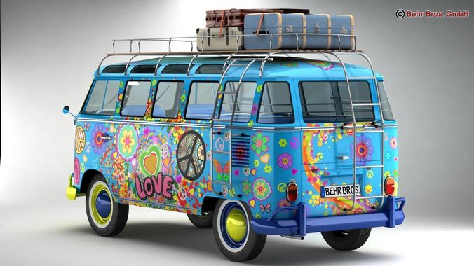 Volkswagen t1 samba 1963 hippie accessories 3d cgtrader volkswagen t1 samba 1963 hippie accessories 3d model max obj 3ds fbx c4d lwo lw lws altavistaventures Image collections