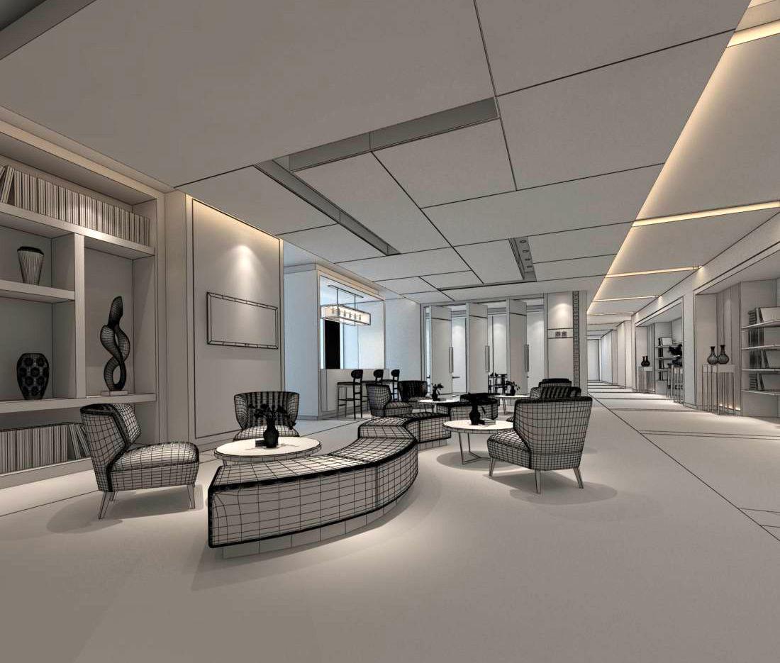 office reception hall design complete  d  cgtrader.  office reception hall design complete  d model max
