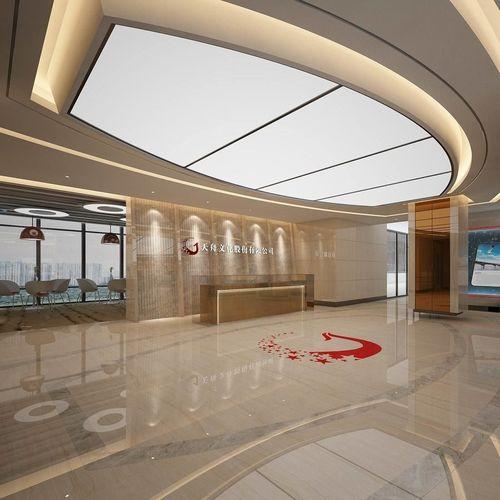 Banquet Hall Design: Office Reception Hall Design Complete 14 3D