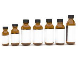 lab-equipment 3D model Medical bottles