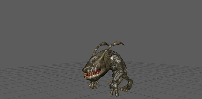 3D model Cave Goblin   CGTrader