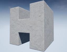 Seamless Customizable Plaster Material Pack 105 3D model