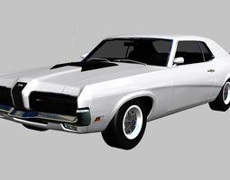 3D asset Mercury Cougar Eliminator 1970