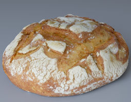 3D Bread 02 Photoscan