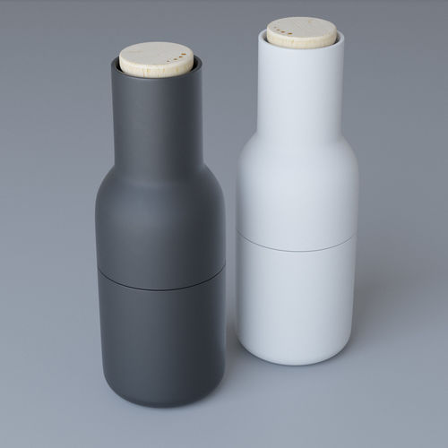 menu bottle grinder 3d model max obj 1