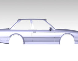 RC car body shell bmw 1 10 3D printer