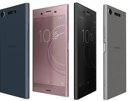 3D model Sony Xperia XZ1 All Colors