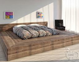 Bed 1 3D
