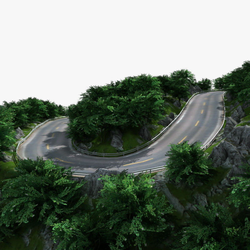 Mountain Road 01