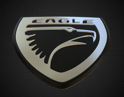 eagle logo transport 3D