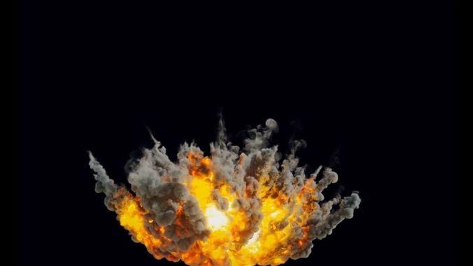 houdini pyrofx megapack element file heavy airstrike asset  3d model rigged animated hda hip bgeo geo bclip clip hipnc 1