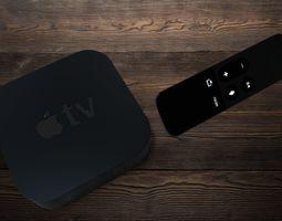 Apple TV 4th Generation 3D model