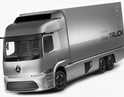 3D model Mercedes Urban eTruck