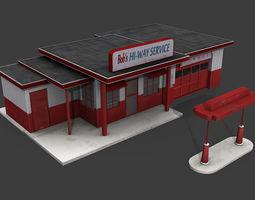 3D asset Bobs Hi-way Service