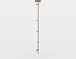 ladder game-ready 3d model