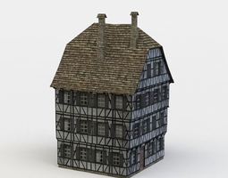 VR / AR ready house 3d model