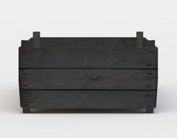 wooden storage 3d model VR / AR ready