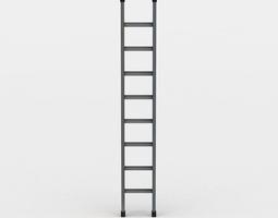 3d model ladder VR / AR ready
