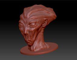 zoltar the alien 3d printable model