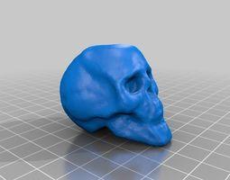 small skull 3d printable model