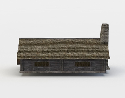 3d model house game-ready