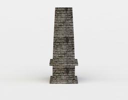 chimney 3d model game-ready