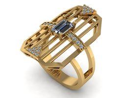 3D printable model Baguette Ring