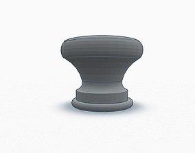 Guitar Strap Button 3D print model