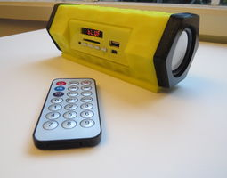 3D print model Bluetooth speaker