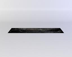 realtime black decal1 3d model
